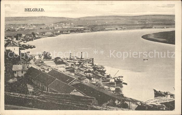 Belgrad Serbien Hafen Kat. Serbien