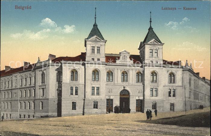 Belgrad Serbien Kaserne Kat. Serbien