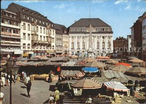 Bonn Rhein Marktplatz / Bonn /Bonn Stadtkreis