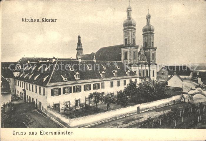 Ebersmuenster Kirche und Kloster Kat. Ebersmunster