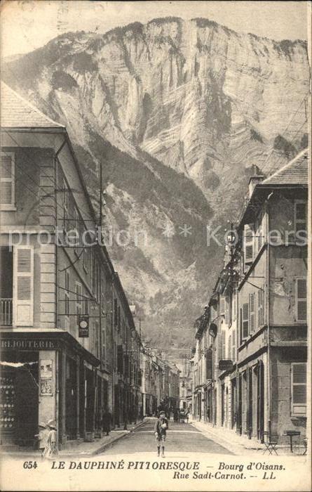 Bourg d Oisans Rue Sadi Carnot Kat. Le Bourg d Oisans