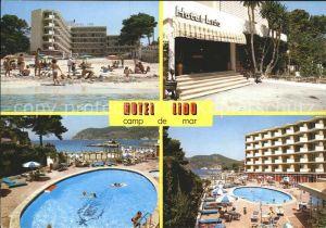 Camp de Mar Hotel Lido Strand Swimmingpool Kat. Andratx Mallorca
