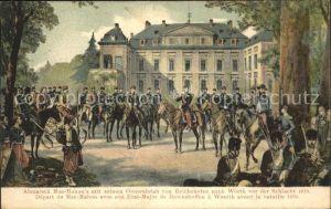 Reichshofen Elsass Abmarsch Mac Mahon nach Woerth Schlacht 1870 / Reichshoffen /Arrond. de Haguenau