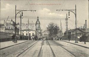 Nancy Lothringen Rue du Faubourg St Jean et le Pont / Nancy /Arrond. de Nancy