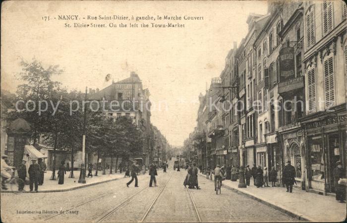 Nancy Lothringen Rue Saint Dizier Marche Couvert / Nancy /Arrond. de Nancy