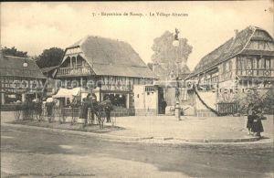 Nancy Lothringen Exposition Village Alsacien / Nancy /Arrond. de Nancy
