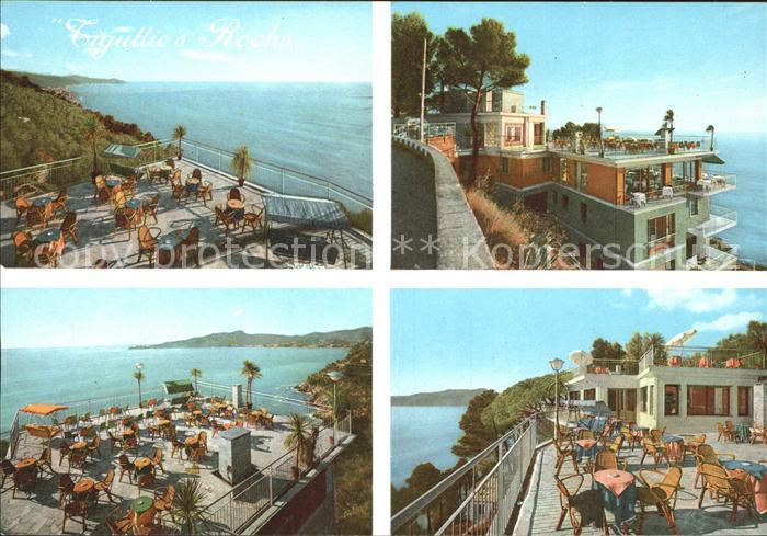 Chiavari Hotel Restaurant Tiguillos Rocks Terrasse Kat Italien Nr