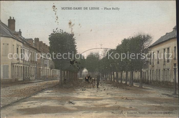 Notre Dame de Liesse Place Bailly Kat. Liesse Notre Dame