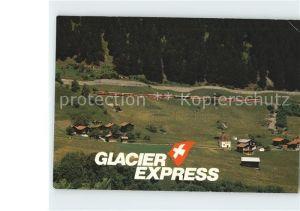 Disentis GR Clacier Express Surselva Kat. Disentis