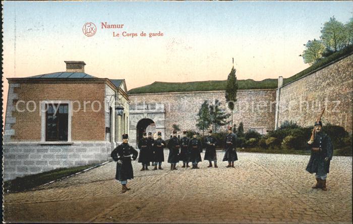 Namur Wallonie Le Corps de garde Kat.