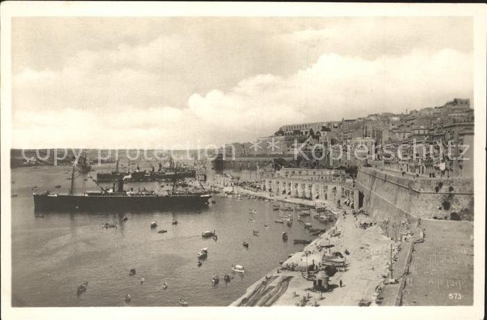 Malta Hafen  Kat. Malta