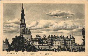 Jasna Gora Widok ogolny Kirche / Czestochowa Schlesien /