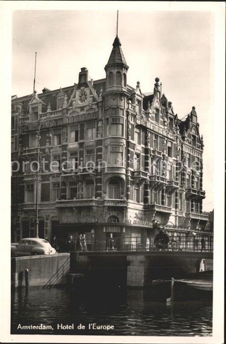 Amsterdam Niederlande Hotel de l`Europe Kat. Amsterdam