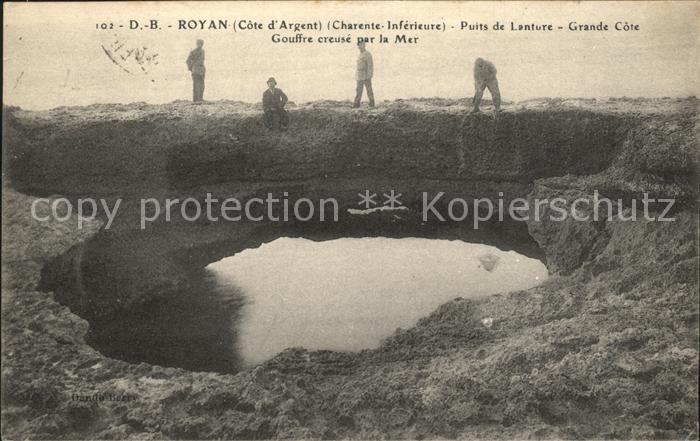 Royan Charente Maritime Puits de Lanture Grande Cote Kat. Poitiers Charentes