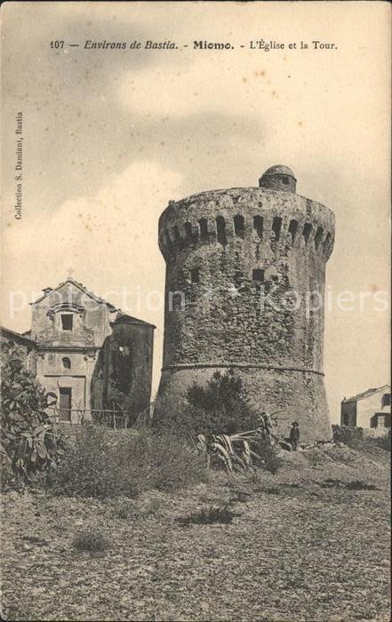 Miomo Eglise et la Tour