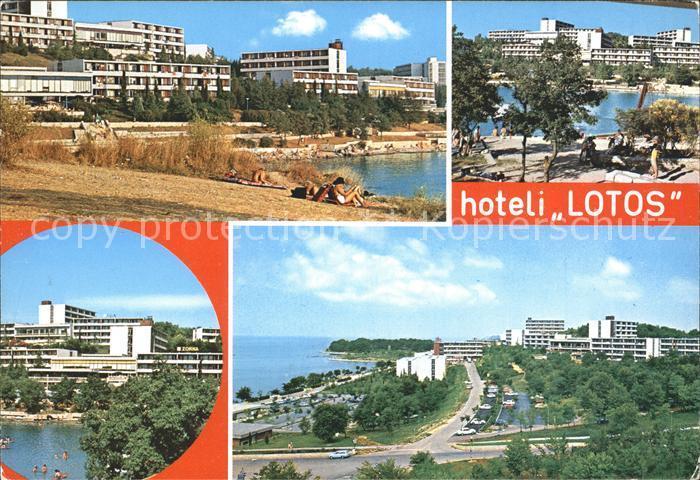 Porec Hotel Lotos Kat. Kroatien