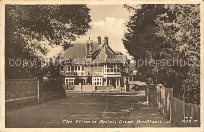 Great Bookham Victoria Hotel Kat. Great Bookham