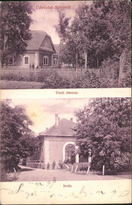 Selyproel Tiszti etterem Iroda Kat. Ungarn