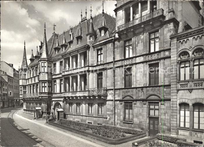 Luxemburg Luxembourg Palais Grand Ducal Kat. Luxemburg