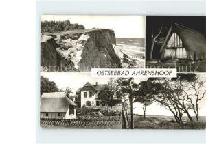Ahrenshoop Ostseebad Steilkueste Kirche Ahrenshoop Boddenhaus  / Ahrenshoop /Nordvorpommern LKR