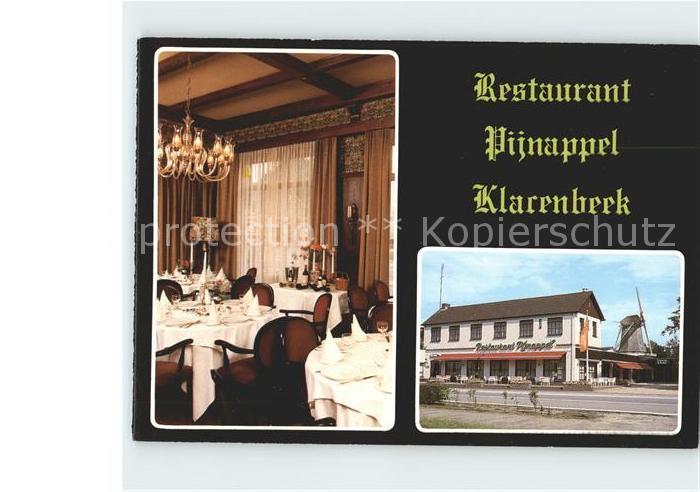 Klarenbeek Restaurant Pijnappel Kat. Klarenbeek