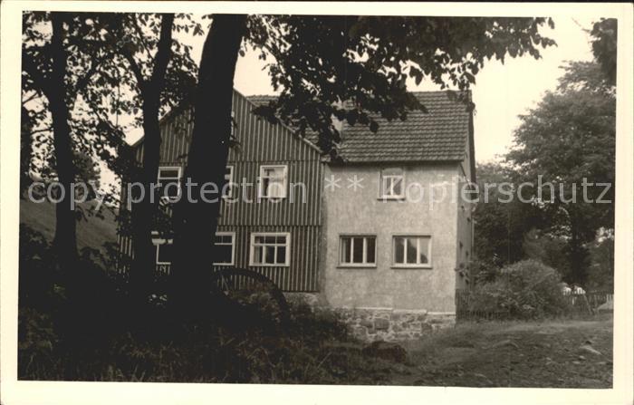 Frauenwald Thueringen Fraubachmuehle  Kat. Frauenwald