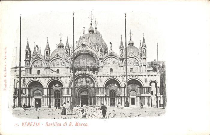 Venezia Venedig Basilica di S. Marco Kat.
