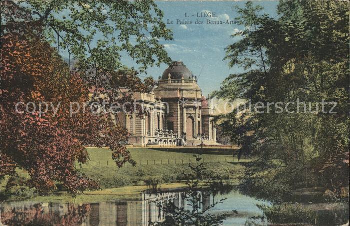 Liege Luettich Le Palais des Beaux Arts Kat. Luettich