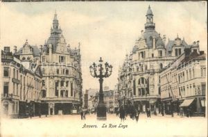 Anvers Antwerpen La Rue Leys Kat.
