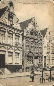 Ypres Ypern West Vlaanderen Marche au betail Maison des Corporations Kat.