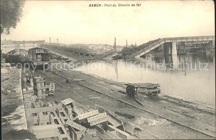 Namur Wallonie Pont du Chemin de fer /  /