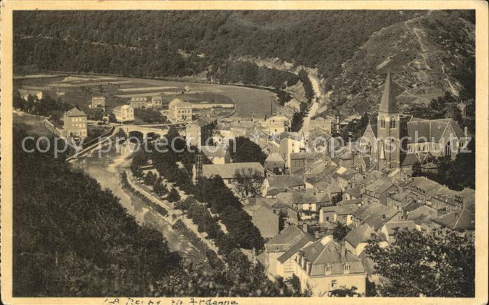 La Roche Madoux en Ardenne Quartier du Nord Kat.
