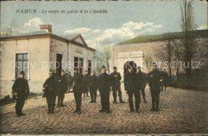 Namur Wallonie Le corps de garde a la Citadelle Kat.