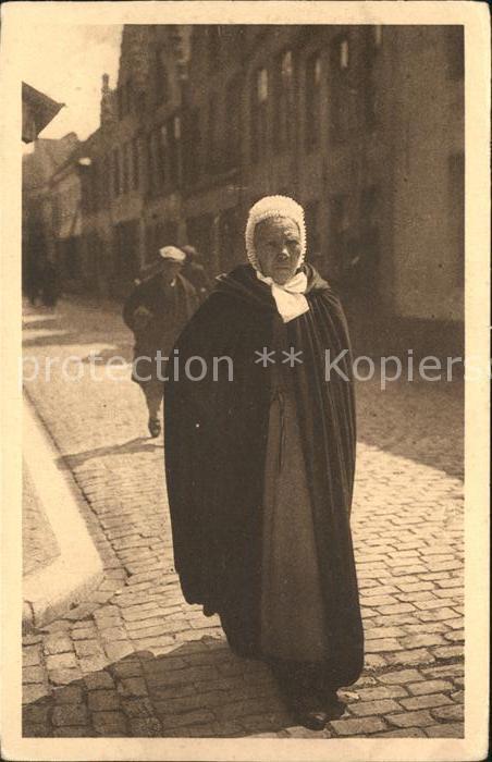 Bruges Flandre Brugsche vrouw Kat.