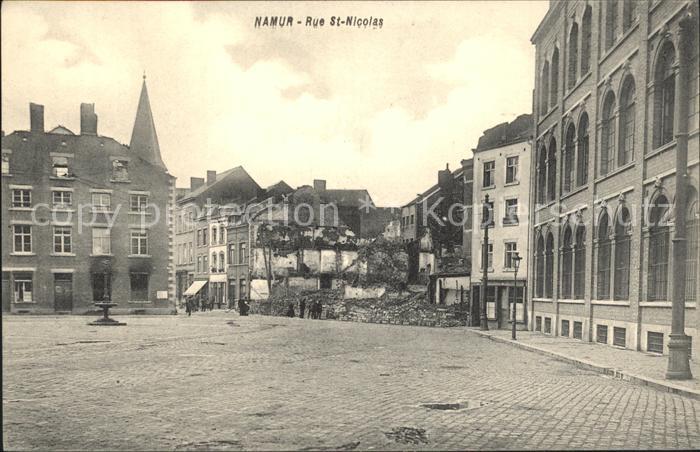 Namur Wallonie Rue Saint Nicolas /  /