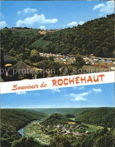 Rochehaut Hotel Restaurant Les Tonnelles Camping vue generale Kat.
