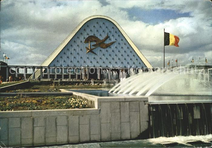 Bruxelles Bruessel Exposition Universelle Kat.