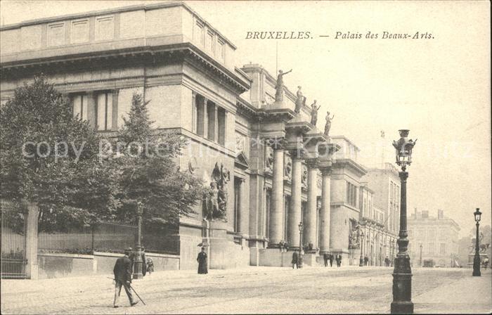Bruxelles Bruessel Palais des Beaux Arts Kat.