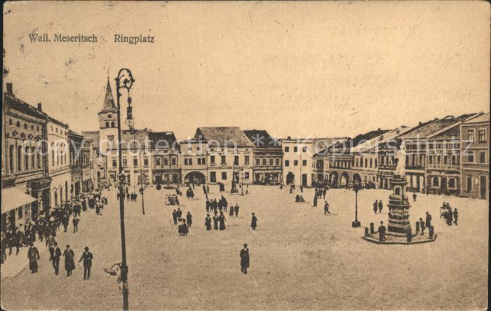 Meseritz Tschechien Ringplatz Kat.