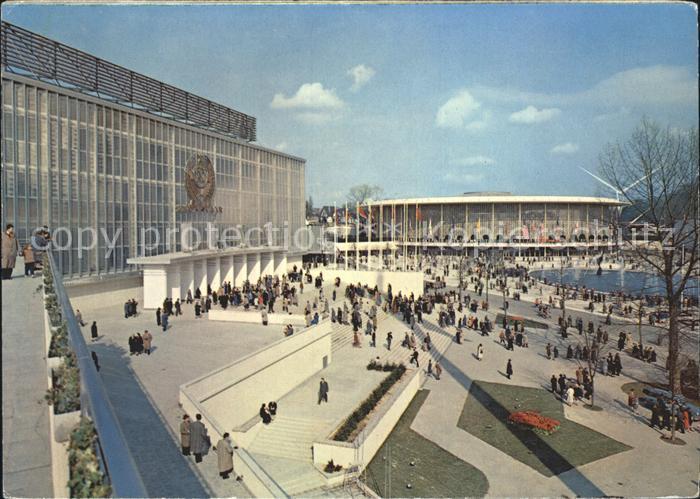 Bruxelles Bruessel Exposition Universelle de Bruxelles 1958 Kat.