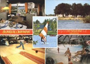 Dalen Drenthe Bungalowpark De Huttenheugte Restaurant Bowling Hallenbad