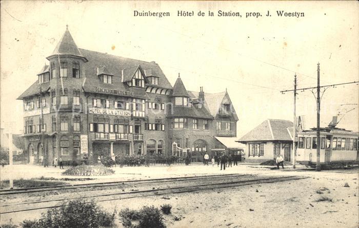 Duinbergen Hotel de la Station  /  /