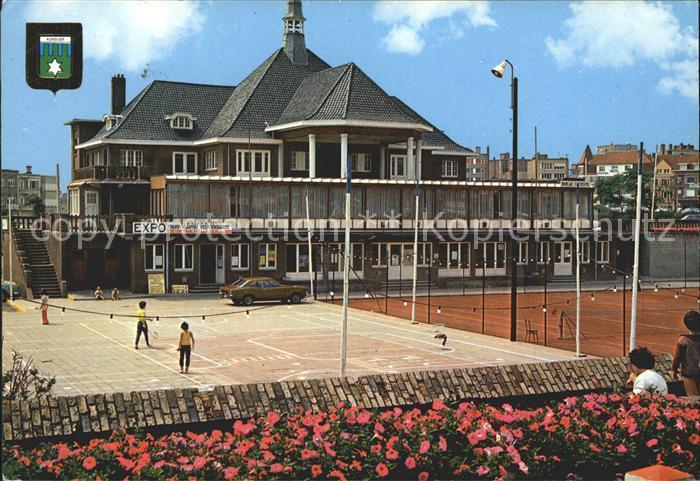 Koksijde Tennisplatz Kat.