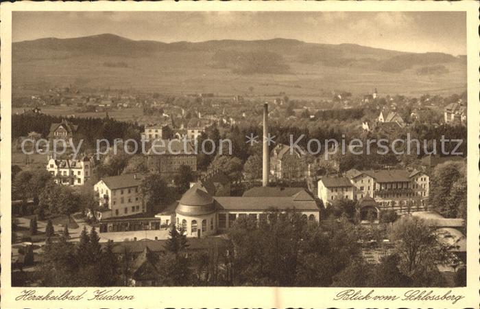 Ansichtskarten Unter Der Voraussetzung Ak Bad Kudowa Blick Auf Den Kurplatz 1936