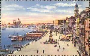 Venezia Venedig Riva degli Schiavoni Kat.