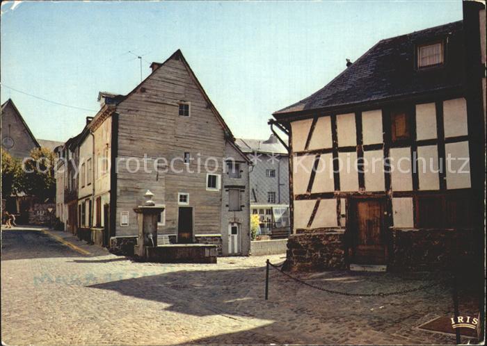 Stavelot Liege Rue Haute Ancienne Chemin Rue  Kat.
