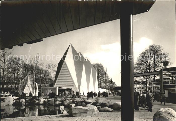 Bruxelles Bruessel Sections etrangeres Exposition Universelle 1958 Kat.