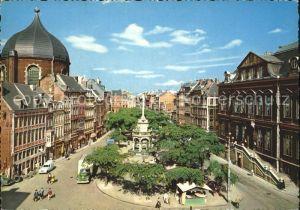 Liege Luettich Place du Marche et Perron Marktplatz Kat. Luettich