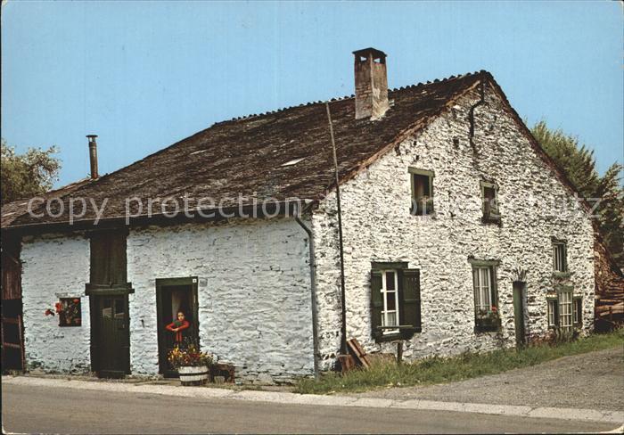 Banneux Ardennes Pittoresques Vieille Maison  Kat.