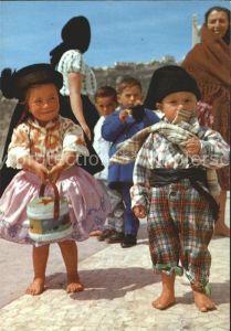 Nazare Portugal Kinder Trachten Kat.